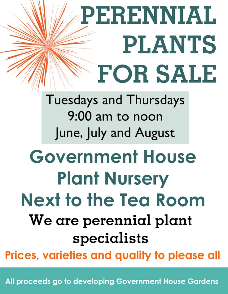 poster for 2016 plant sale
