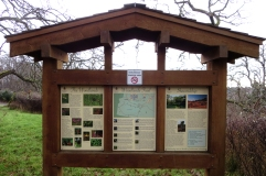 Woodlands signage